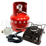 Плита газовая турист ПГТ-1 Б с РДСГ 1-1,2 и ВБ-2, НЗГА